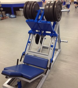 Leg Press machine weight